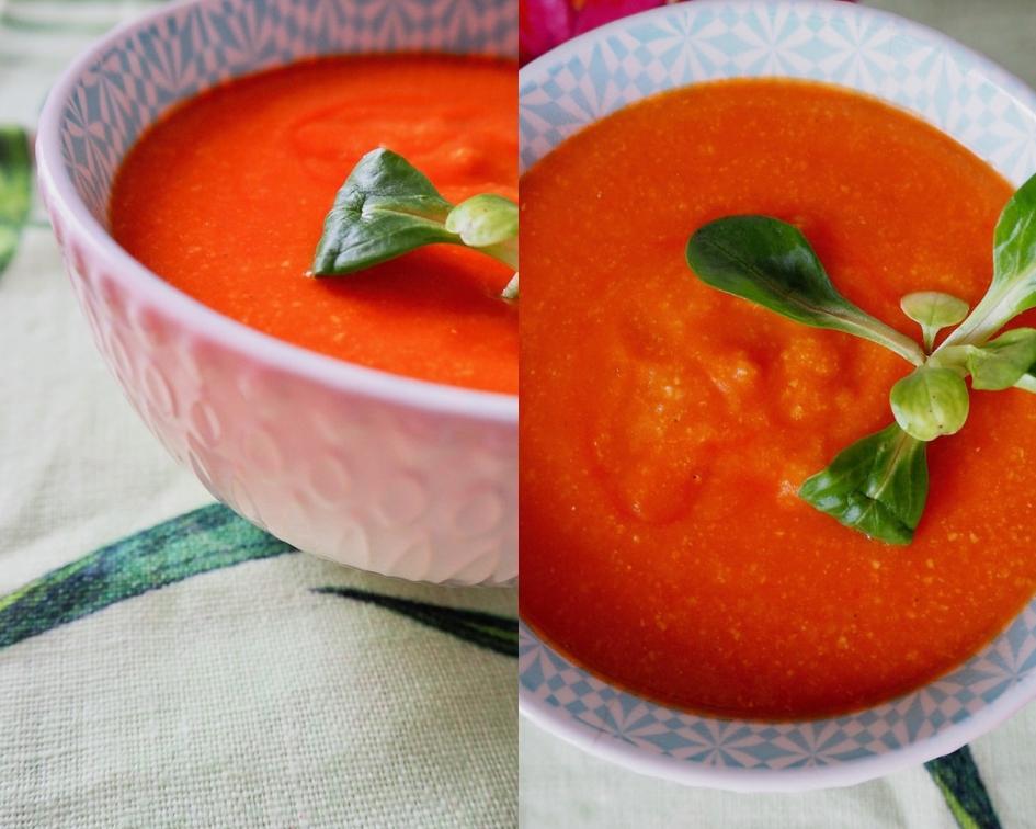 pomidorowa zupa krem bez nabiału