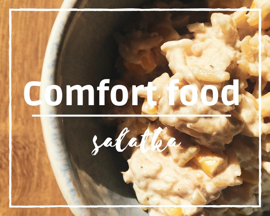 Sałatka z ryżem, czyli moje comfort food